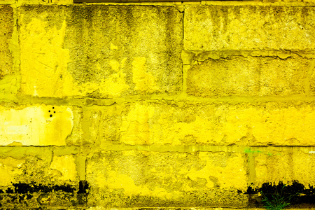 Colorful Brick Wall Pattern, Painted Bricks As Urban Texture Stock ...