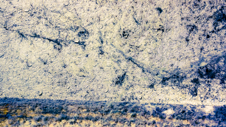 Abstract background with mold and wet spider web on wall in room
