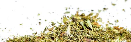 Marijuana Bud Cannabis Close Up isolated