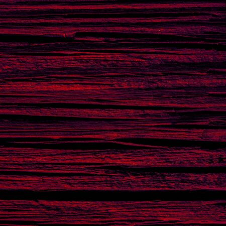 red horizontal line texture of old wooden desk in shadow
