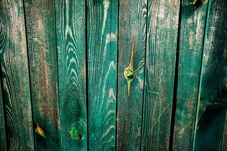 Weathered natural wooden fence texture