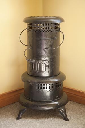 Antique metal heater