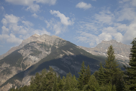 Beautiful Canadian Rocky Mountains of British Columbia, Canada. Imagens