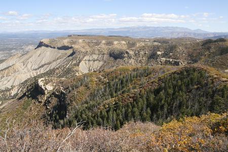 メサ ・ ベルデ国立公園、コロラド州、アメリカの美しい風景です。 写真素材 - 84567537