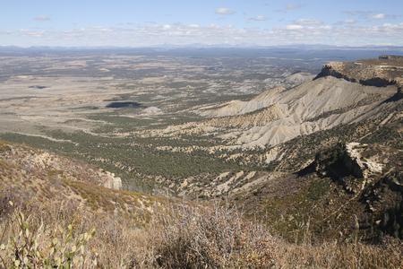 メサ ・ ベルデ国立公園、コロラド州、アメリカの美しい風景です。 写真素材 - 84566954