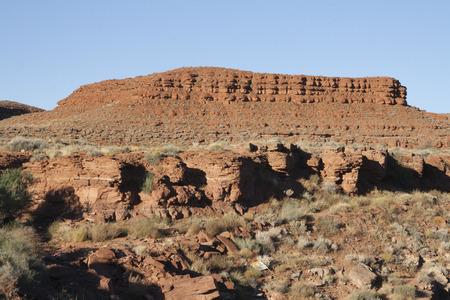 Beautiful red rock monument in San Juan, Utah, USA. Imagens - 85443241