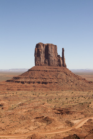 The Hand in Monument Valley, UtahArizona, USA.