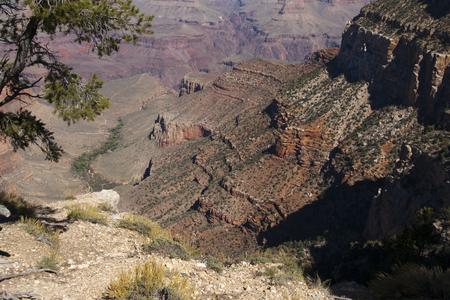 Beautiful cliffs, canyons, and valleys at the Grand Canyon national park, Arizona, USA. Imagens - 84790312