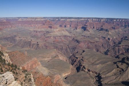 Beautiful cliffs, canyons, and valleys at the Grand Canyon national park, Arizona, USA. Imagens - 84791972