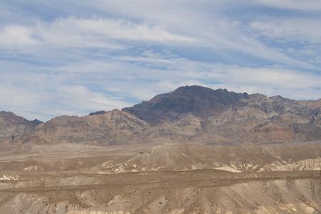 ザブリスキー ポイント、デスバレー国立公園、カリフォルニア州、アメリカの美しい化石の砂丘。 写真素材 - 85157009