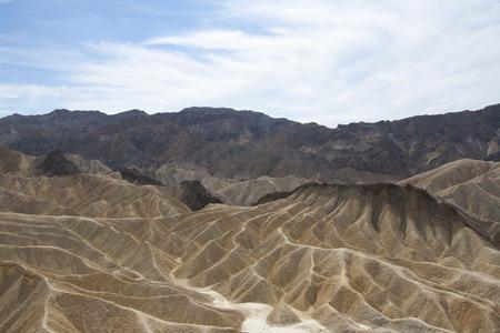ザブリスキー ポイント、デスバレー国立公園、カリフォルニア州、アメリカの美しい化石の砂丘。 写真素材 - 85101352