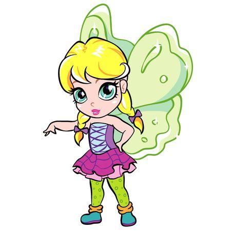 pixy: elf fairy girl Illustration