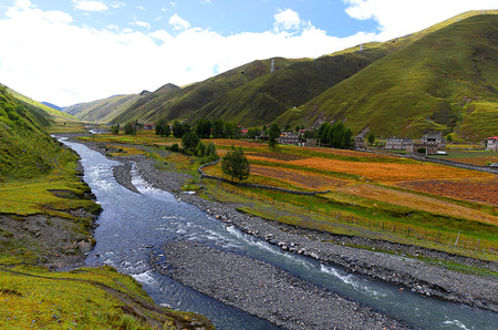 kandinsky: Xinduqiao scenery