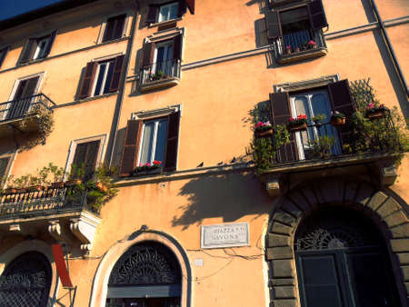 Italy, city of Rome, Square Navona, street