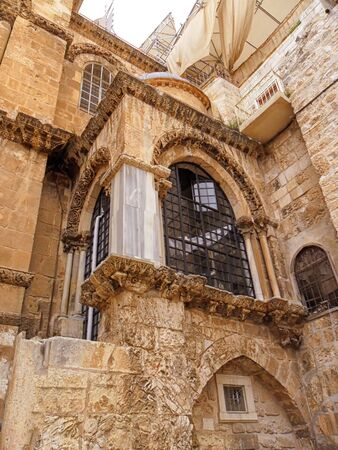 Israel, Jerusalem, Church of the Holy Sepulchre, old city