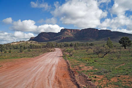 flinders: Flinders ranges SA Stock Photo