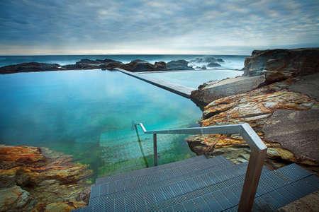 nsw: The Blue Pool, Bermagui NSW