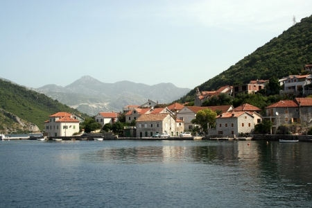 Old croatian city on the river