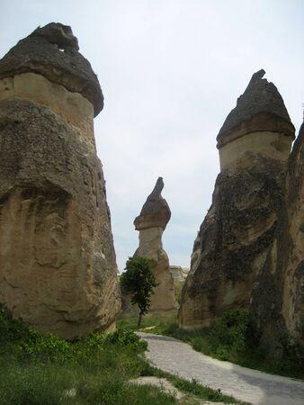 phallus: Fairy chimneys of Cappadocia in Turkey