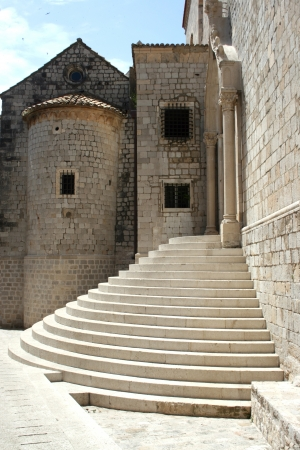 An old monastery in Dubrovnik