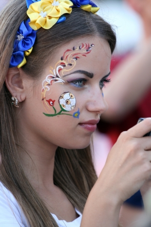 European Football Championship 2012 in Ukraine and Poland. Kyiv, 01 July 2012. Editorial
