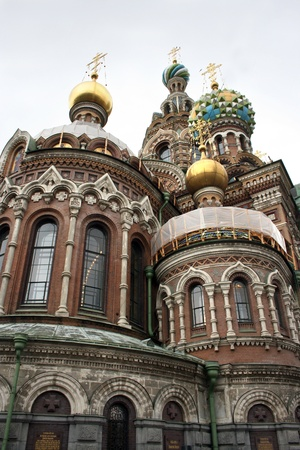 Church of Savior on Spilled Blood in Saint-Petersburg, Russia. Stock Photo - 16520473