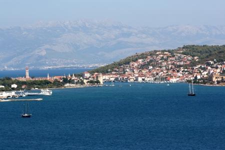 View on town Trogir in Croatia. Stock Photo