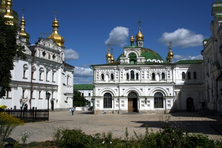 Kiev Pechersk Lavra the famous landmark in Ukraine. Stock Photo