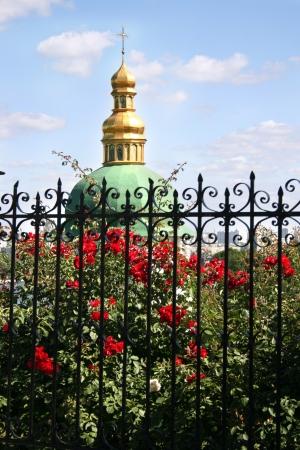 Kiev Pechersk Lavra the famous landmark in Ukraine. Stock Photo