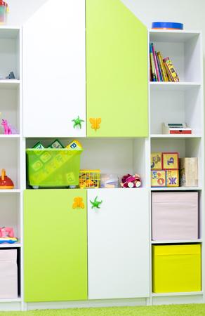 Interior of a modern kindergarten.