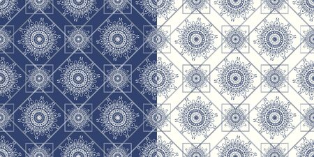 Ornamental seamless pattern with traditional Arabic ornaments. Background in Islamic style. Vector abstract texture.