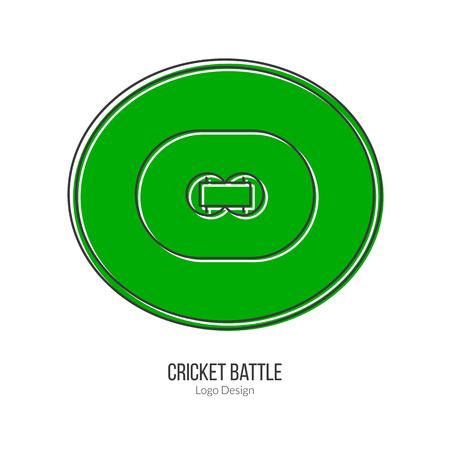 cricket field: Green Cricket field.