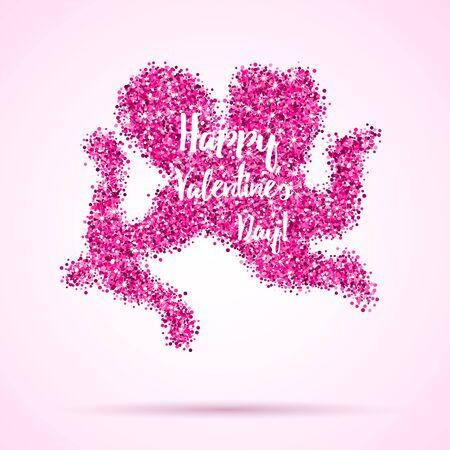 Valentines greeting card, banner Banco de Imagens - 61423420