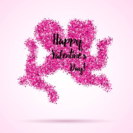 Valentines greeting card, banner Stock Illustratie