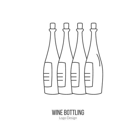 viticulture: Wine bottles.