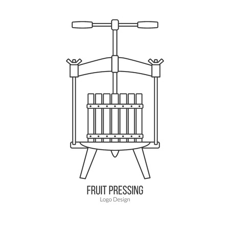 Fruit press.