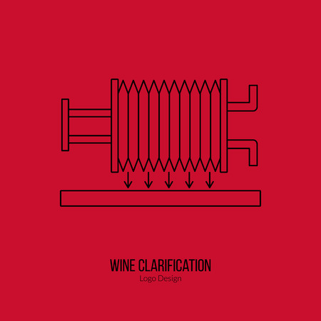 wine trade: Wine filter pump system.
