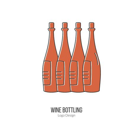 winemaking: Wine bottles.