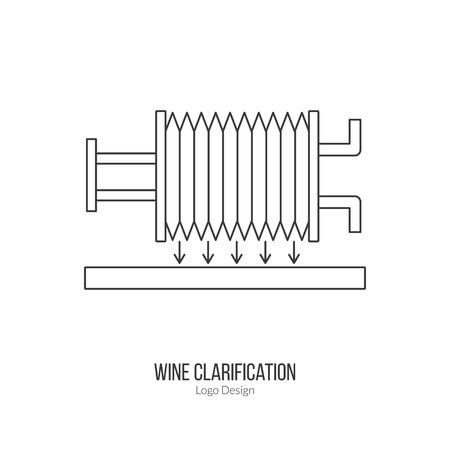 clarification: Wine filter pump system.