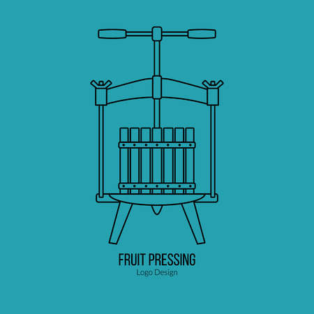 Fruit press.