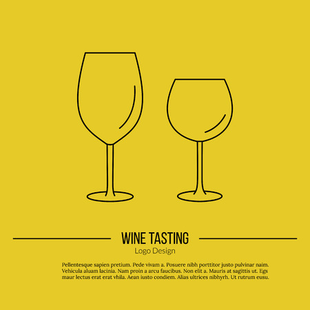 wine trade: Wineglasses.