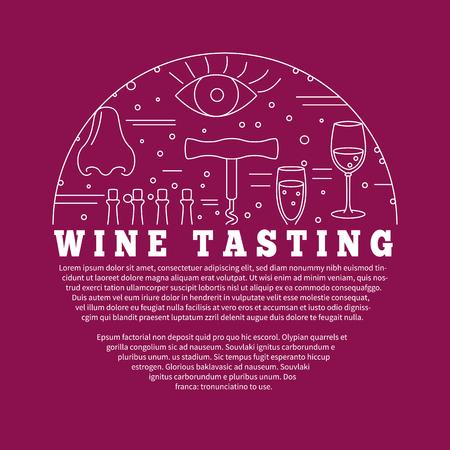 Wijnmaken, wijnproeven Stockfoto - 61428342