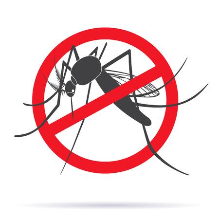 Zika alert banner, poster