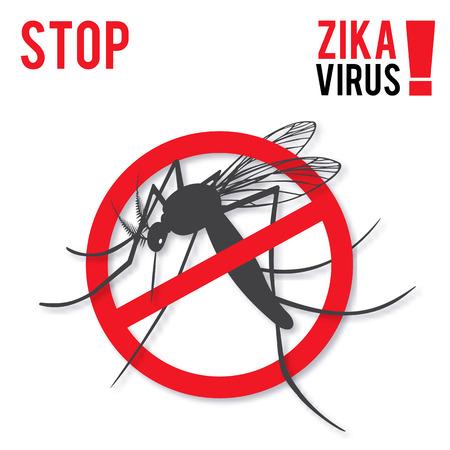 Zika alert banner