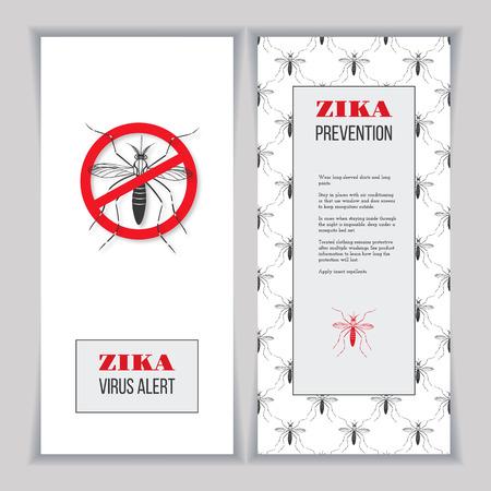no mosquito: Aegypti mosquito with forbidden, no mosquito sign.