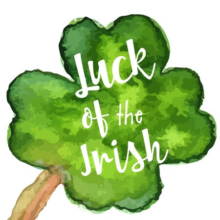 St. Patrick Day greeting card