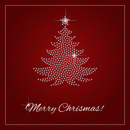 Christmas greeting card or poster shimmering diamond luxury 48647710 christmas greeting card or poster shimmering diamond luxury christmas tree template with a glamour design element and a place for your text m4hsunfo