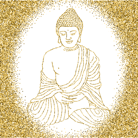 mantra: Buddha in meditation
