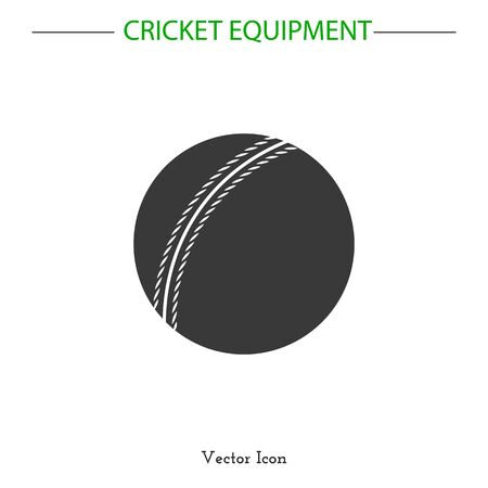 game equipment: Sport icon. Cricket game equipment.