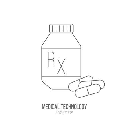 Prescription pill bottle, capsule pills.